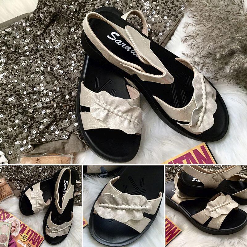 sandale casual bej