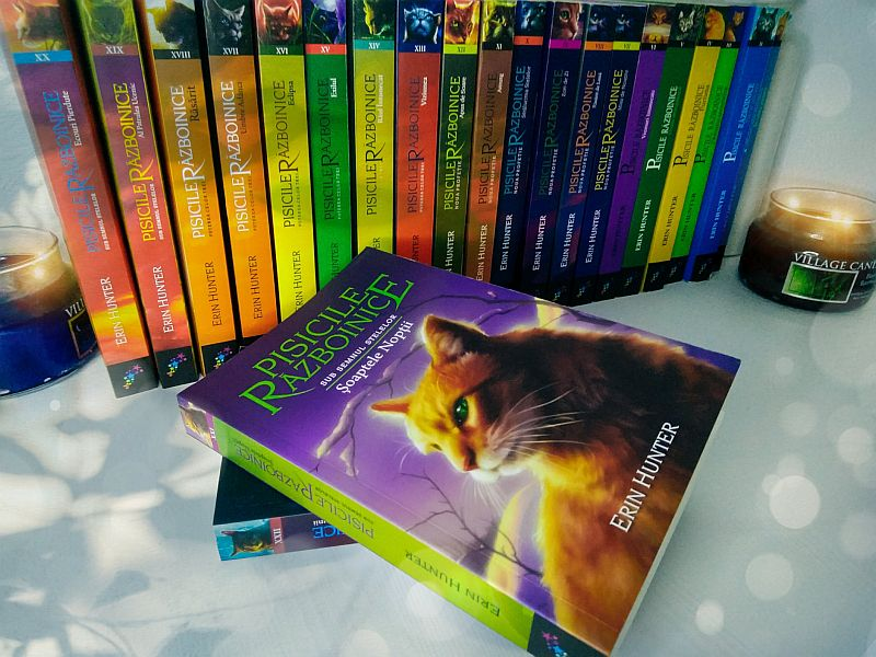 Pisicile razboinice vol 21 - Soaptele noptii de Erin HunterPisicile razboinice Vol.21: Soaptele noptii - Erin Hunter