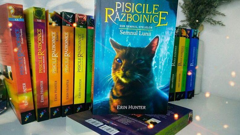 Pisicile razboinice vol 22 Semnul lunii de Erin Hunter