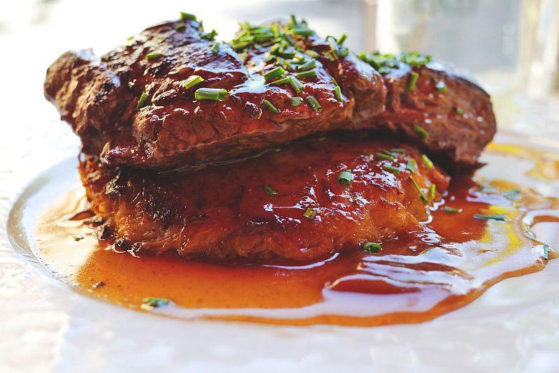 rețete sos de friptură suculentă