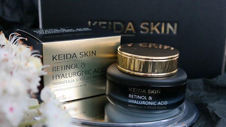 KEIDA SKIN Crema cu Retinol și Acid Hialuronic Keida Skin, cea mai puternică armă anti-age