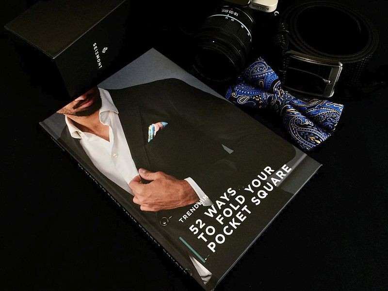 52 Ways to Fold Your Pocket Square Book