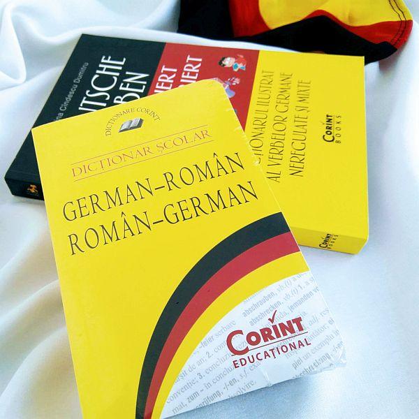 Dicţionar şcolar german-român, român-german ieftin