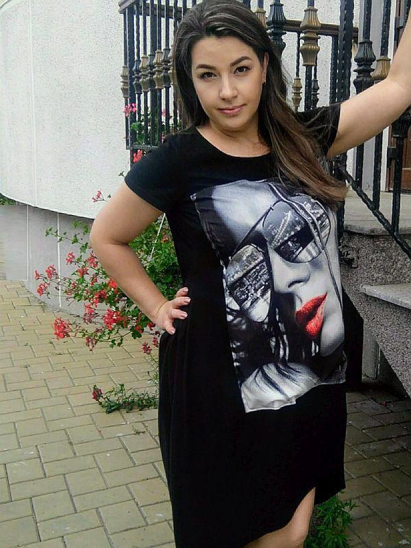rochie tricou